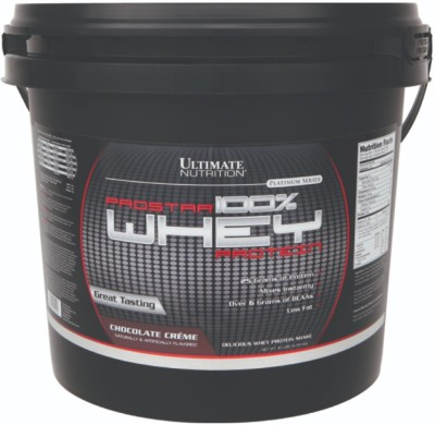 Ultimate Nutrition Prostar 100% Whey Protein(4.54 kg, Chocolate Creme)