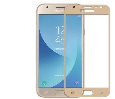 YuniKase Tempered Glass Guard for Samsung Galaxy S8 (5.8 Inch Display) Golden