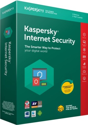 KASPERSKY Internet Security 2018 - 3 PC for 1 Year