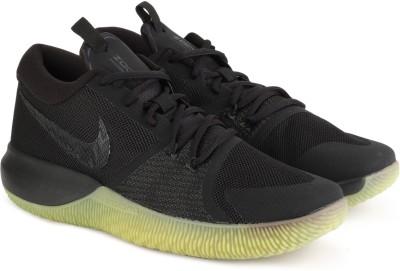 Nike ZOOM ASSERSION Basketball Shoes For Men(Black) 1