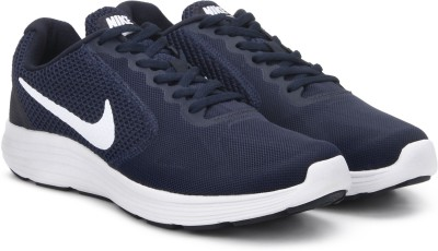 Nike REVOLUTION 3 Running Shoes For Men(Blue) 1