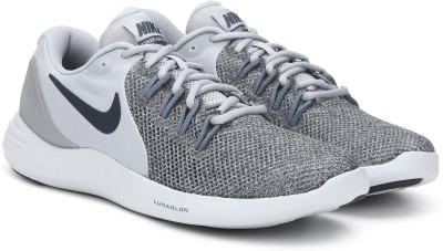 Nike LUNAR APPARENT Running Shoes For Men(Grey) 1