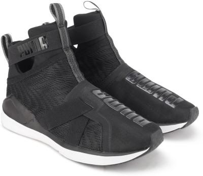 Puma Fierce Strap Swirl Wn s Training & Gym Shoes For Women(Black)