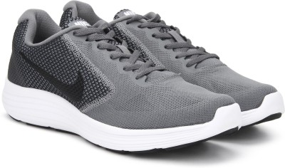 Nike REVOLUTION 3 Running Shoes For Men(Grey) 1