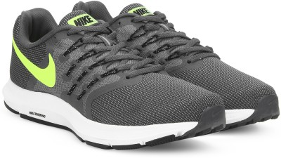 Nike RUN SWIFT Running Shoes For Men(Black) 1
