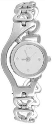 swan SILVER CHAIN ANALOG WOMAN WATCH Analog Watch   For Women swan Wrist Watches