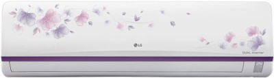 LG 1.5 Ton 3 Star BEE Rating 2018 Split AC  - White(JS-Q18FUXD1, Copper Condenser)   Air Conditioner  (LG)