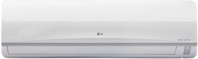 LG 1 Ton 3 Star BEE Rating 2018 Inverter AC  - White(JS-Q12TUXD, Copper Condenser)