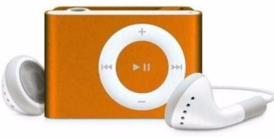 MOBONE Orange Mini MP3 Player Orange, 0 Display MOBONE Media Players