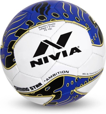 Nivia SHINING STAR AMBITION Football - Size: 5(Pack of 1, Multicolor)  available at flipkart for Rs.1245
