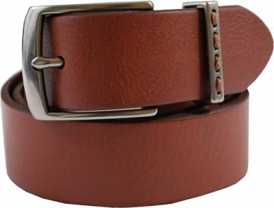 Tommy Hilfiger Men Tan Genuine Leather Belt