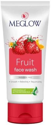 Meglow Fruit Facewash Face Wash(70 g)  available at flipkart for Rs.178
