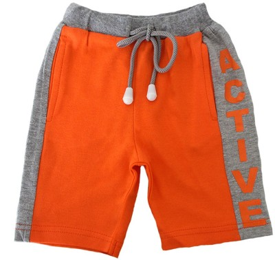 Magic Train Short For Boy's & Girl's Casual Solid Cotton(Multicolor, Pack of 1)  available at flipkart for Rs.199