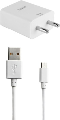 Furst 2A. Fast Charger with Cable  1 Mtr  For Samsung Galaxy J7 Prime Mobile Charger White