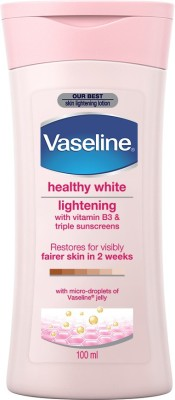 Vaseline Healthy White Lightening With Vitamin B3 & Triple Sunscreens Lotion, 100ml