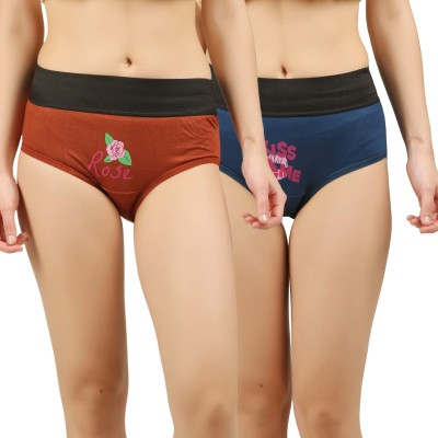 Lux Lyra Women Hipster Multicolor Panty(Pack of 4)