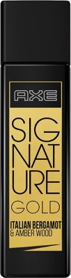 Axe Signature Gold Italian Bergamot & Amber Wood Perfume - 80 ml