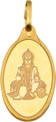 Kundan Hanuman 24  9999  Yellow Gold Pendant Kundan Pendants   Lockets