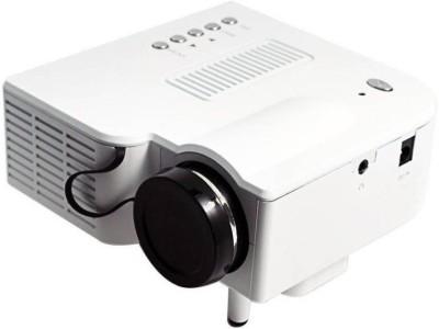 Mezire ® Mini Home Cinema Theater Portable Projector(White) Portable Projector(White)