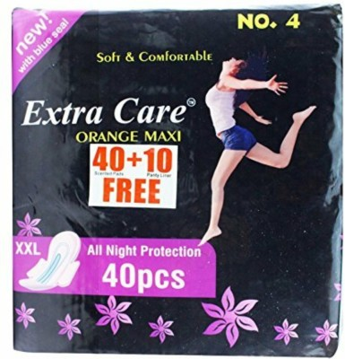 Extra Care PINKMAXI Ext Cr Sanitary Pad(Pack of 40)
