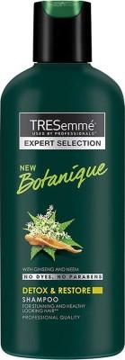 TRESemme Botanique Detox & Restore Shampoo, 190ml