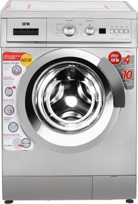 IFB 7Kg Fully Auto Washing Machine (Serena Aqua Sx LDT, Silver)