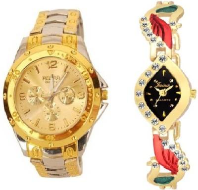 lavishable Rosra Combo Stylish Couple Watch niresn24q Watch - For Couple Watch  - For Men & Women