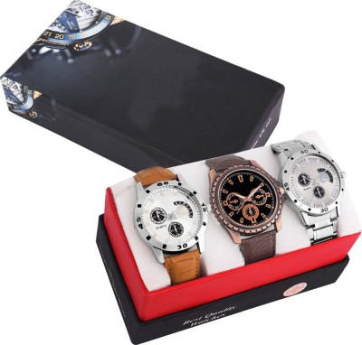 Foxter NEW STYLISH CASUAL COMBO FOR MAN Watch  - For Men