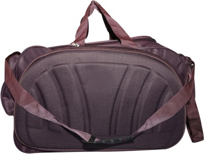 81223ab6be 85% OFF on Inte Enterprises purple (Expandable) Duffel Strolley Bag(Purple)  on Flipkart