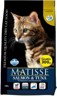 farmina Matisse Salmon & Tuna 1.5kg Sea Food 1.5 kg Dry Cat Food