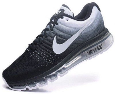 Nike shoes AIRMAX 2017 Running Shoes For Men(Black, White)