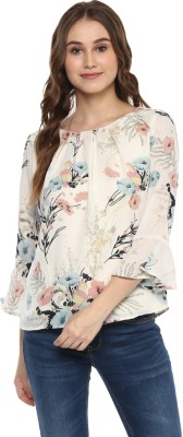Harpa Casual Bell Sleeve Floral Print Women
