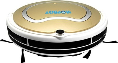 MOPBOT by Pata Electric Company Robotic Floor Vacumm Cleaner Wet & Dry Cleaner(Golden)  available at flipkart for Rs.16000