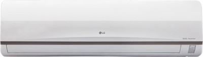 LG 1.5 Ton 3 Star BEE Rating 2018 Inverter AC  - White(JS-Q18CPXD2, Copper Condenser)