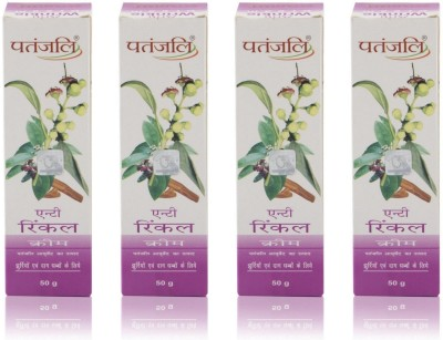 Patanjali Anti Wrinkle Cream ( Pack of 4)(200 g)