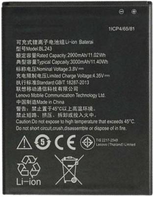 Avyana lenovo A7000 & K3 Note BL243  Battery( )  available at flipkart for Rs.675