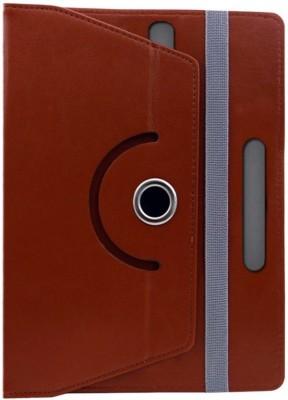 Cutesy Flip Cover for Asus ZenPad 8.0 (Z380KL)(Orange, Cases with Holder)