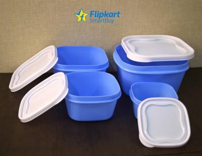 Flipkart SmartBuy Storewell  - 2400 ml, 1400 ml, 800 ml, 400 ml Polypropylene Grocery Container, Fridge Container(Pack of 4, Blue)