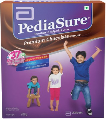 pediasure Premium Chocolate Refill Pack Nutrition Drink(Chocolate Flavored)  available at flipkart for Rs.295