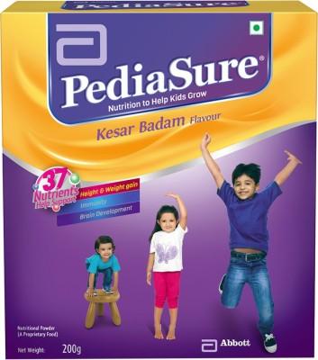 pediasure Kesar Badam Nutrition Drink(Kesar Badam Flavored)  available at flipkart for Rs.310