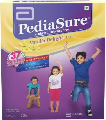 pediasure Vanilla Delight Refill Pack Nutrition Drink(Vanilla Delight Flavored)  available at flipkart for Rs.285