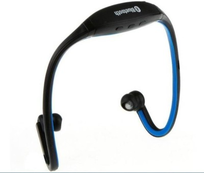 BUY GENUINE Professional Bluetooth 4.1 Wireless Stereo Sport Headphones Running Hiking Exercise Hi-Fi Sound Hands-Free Calling Earphone Bluetooth Headset with Mic(Blue, In the Ear)