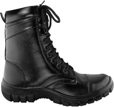 Blinder Men's Black Long Boots For Men(Black)