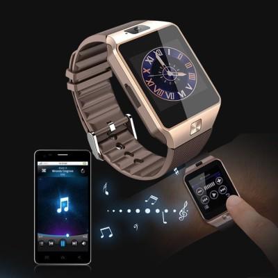4e2261a62 EWELL a1 golden e33 phone golden Smartwatch(Brown Strap regular)