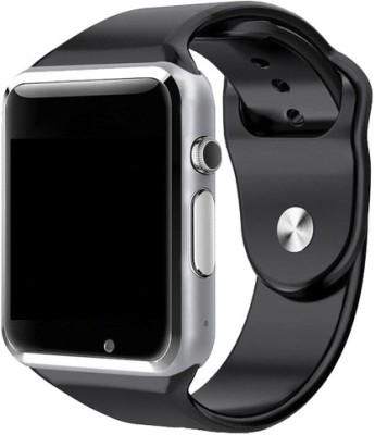 MOBILE LINK Smart Watch Black Smartwatch(Black Strap Free Size)
