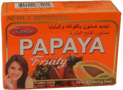 Renew Papaya Fruity Skin Whitening Soap(2 x 67.5 g)