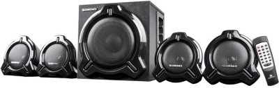 ZEBRONICS Electro BT RUCF 60 W Bluetooth Home Theatre(Black, 4.1 Channel)