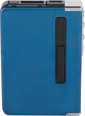 DOCOSS Windproof Metal Rechargeable Box Lighter Flameless Electric Lighter With Case Holder Usb Charging Cable Lighters -Blue Cigarette Lighter(Blue)  available at flipkart for Rs.659
