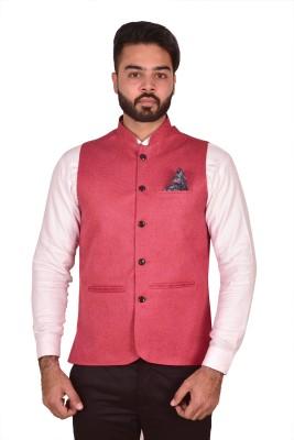 Wearza Self Design Men's Waistcoat