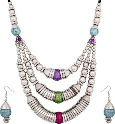 Luxor Metal Jewel Set(Multicolor) at flipkart